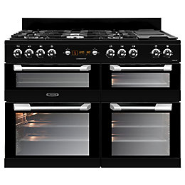 Leisure Dual Fuel Range Cooker with Gas Hob,
