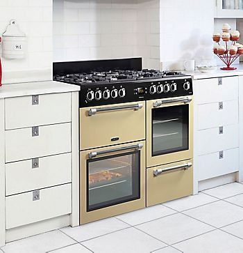 Leisure Dual Fuel Range Cooker with Gas Hob