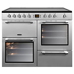 Leisure Electric Range Cooker with Electric Hob, CK100C210K