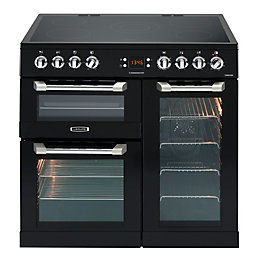 Leisure Dual Fuel Range Cooker with Ceramic Hob,