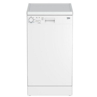 Uncategorized Slimline Kitchen Appliances beko dfs05010w freestanding slimline dishwasher white departments diy at bq