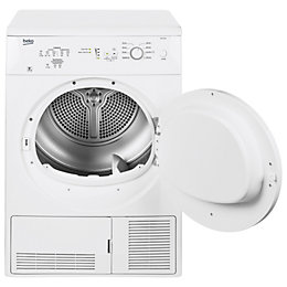 Beko DC7112W White Freestanding Condenser Dryer