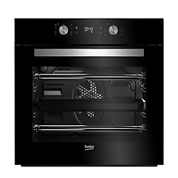 Beko BIM14300BC Black Electric Multifunction Single Oven