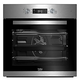 Beko BIF22300XD Stainless Steel Electric Single Fan Oven