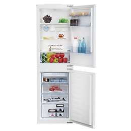 Beko BCSD150 White Integrated Combi Fridge Freezer 50:50