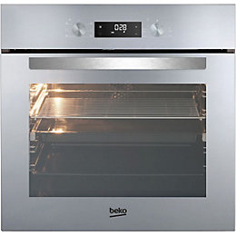 Beko BIE243MD Mirrored Glass Electric Multifunction Single Oven