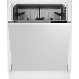 Beko DIN15211 Integrated Dishwasher, White