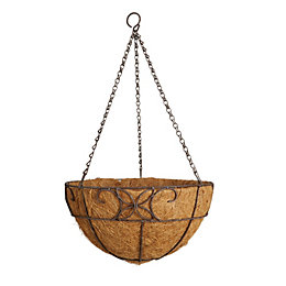 Gardman Distressed Decorative Hanging Basket 355.6 mm
