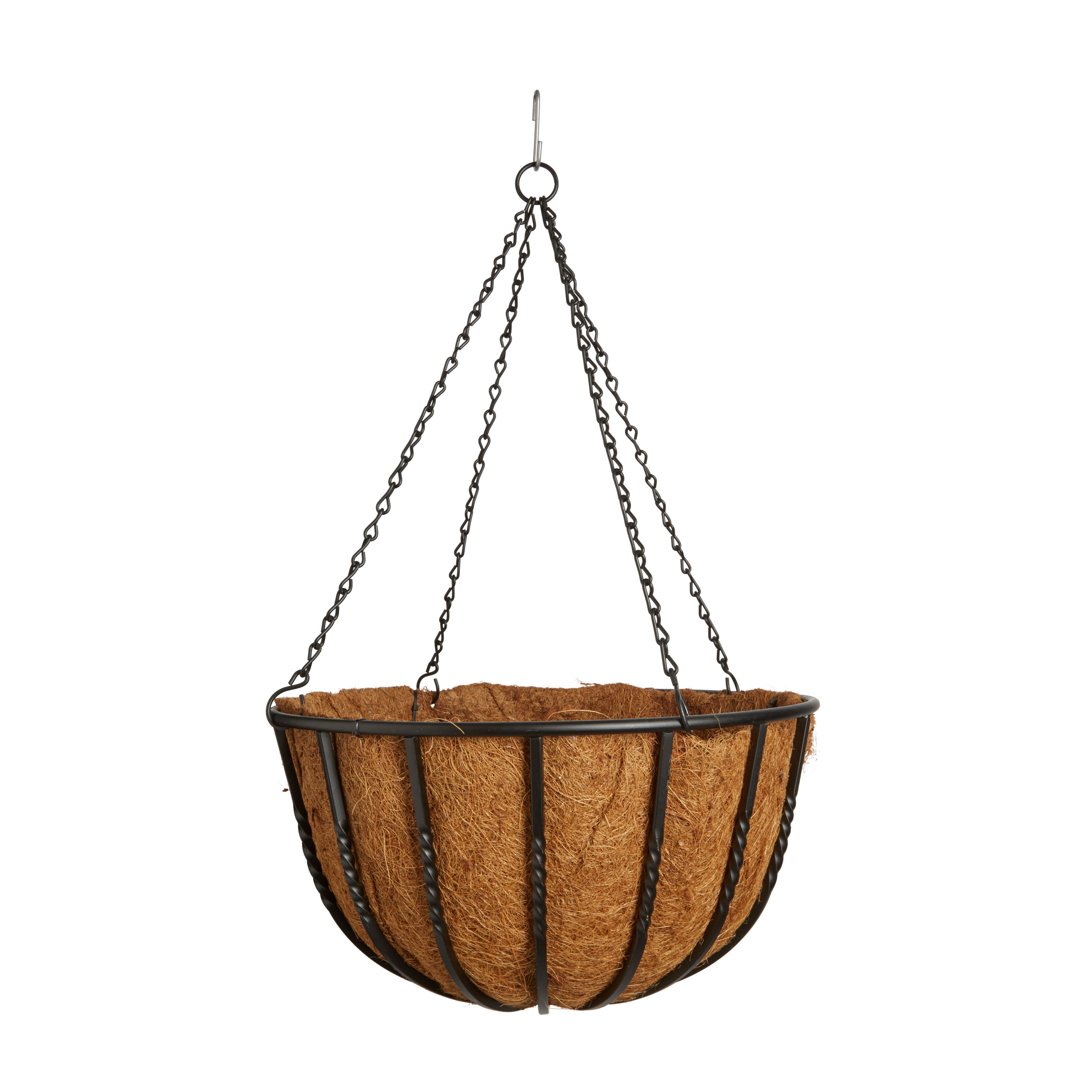 Gardman Wrought Iron Hanging Basket 406.4 mm | Departments ...