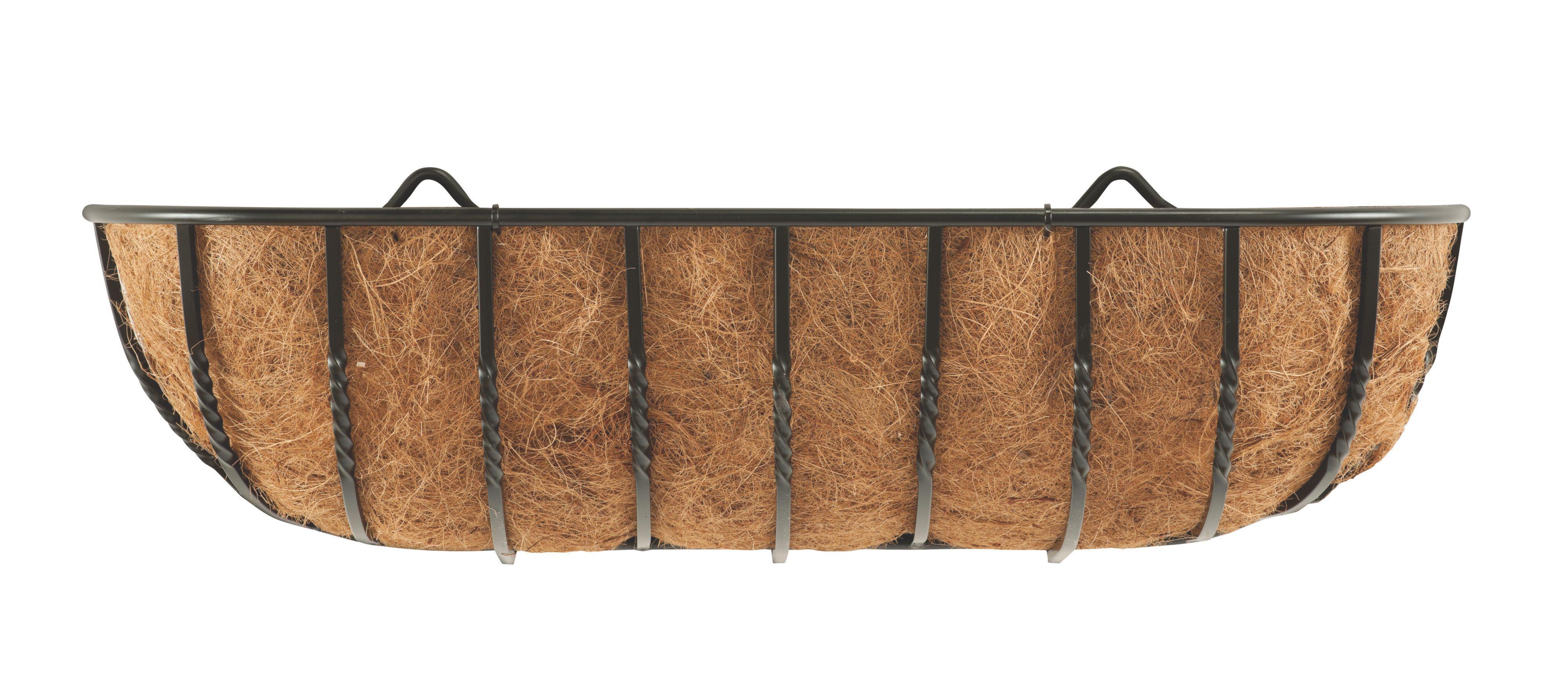 Gardman Wrought Iron Hanging Basket Departments Diy At B Amp Q