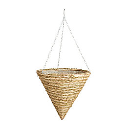 Gardman Two Tone Rope Hanging Basket 14 ""
