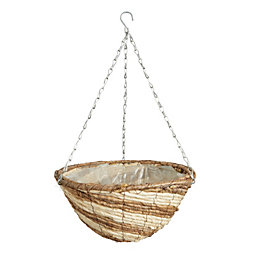 Gardman Stripey Hanging Basket 14 ""