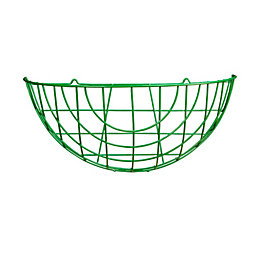 Gardman Basic Green Hanging Basket 16 ""