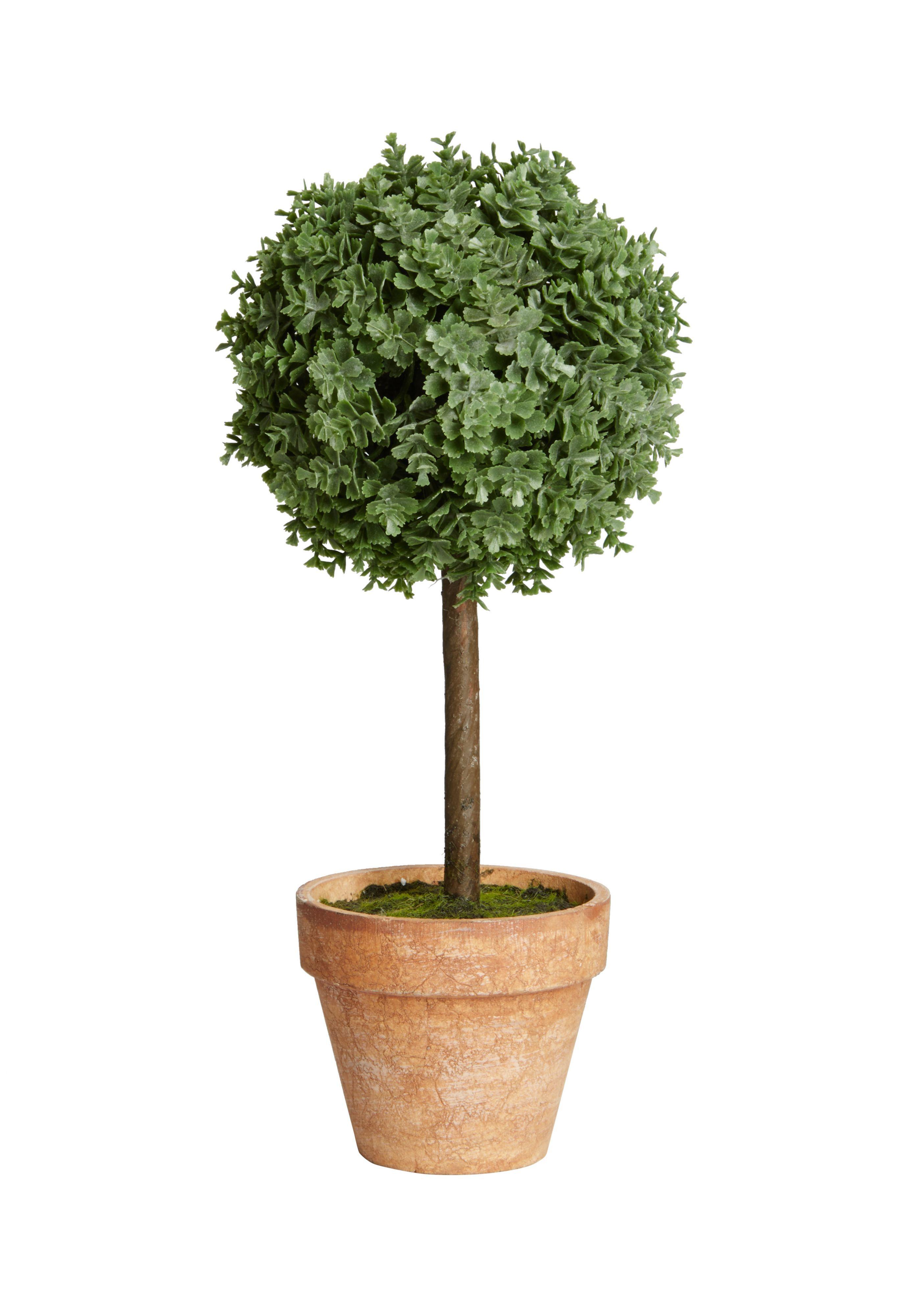 Gardman Miniature Artificial Topiary Tree | Departments ...