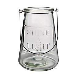 'Shine A Light' Glass Candle Holder