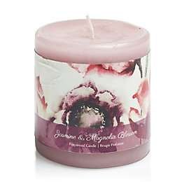 Bloom Jasmine & Magnolia Pillar Candle
