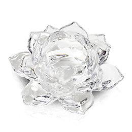 Flower Glass Tealight Holder