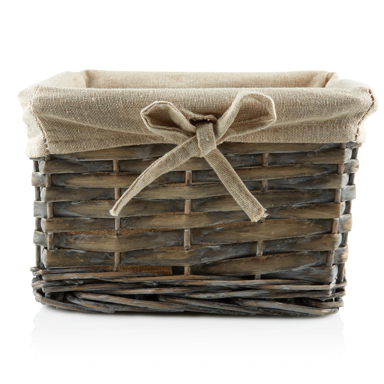 Natural Willow Basket Departments DIY At BampQ