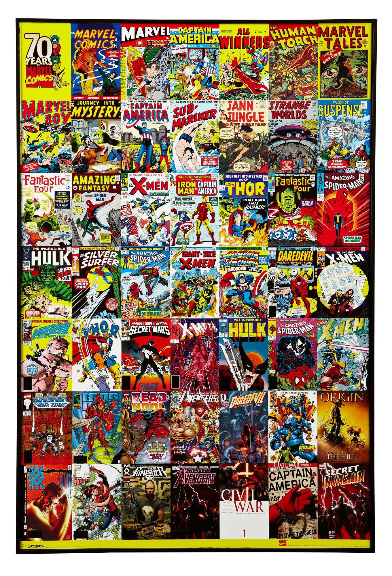 Marvel Comic Multicolour Wall Art  W 62cm  H 92 5cm   Departments   DIY at  B Q. Marvel Comic Multicolour Wall Art  W 62cm  H 92 5cm   Departments