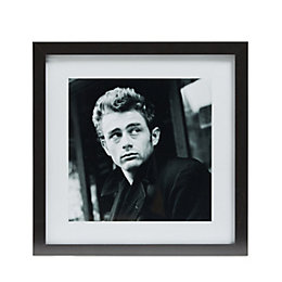 Jame Dean Black & White Framed Print (W)340mm