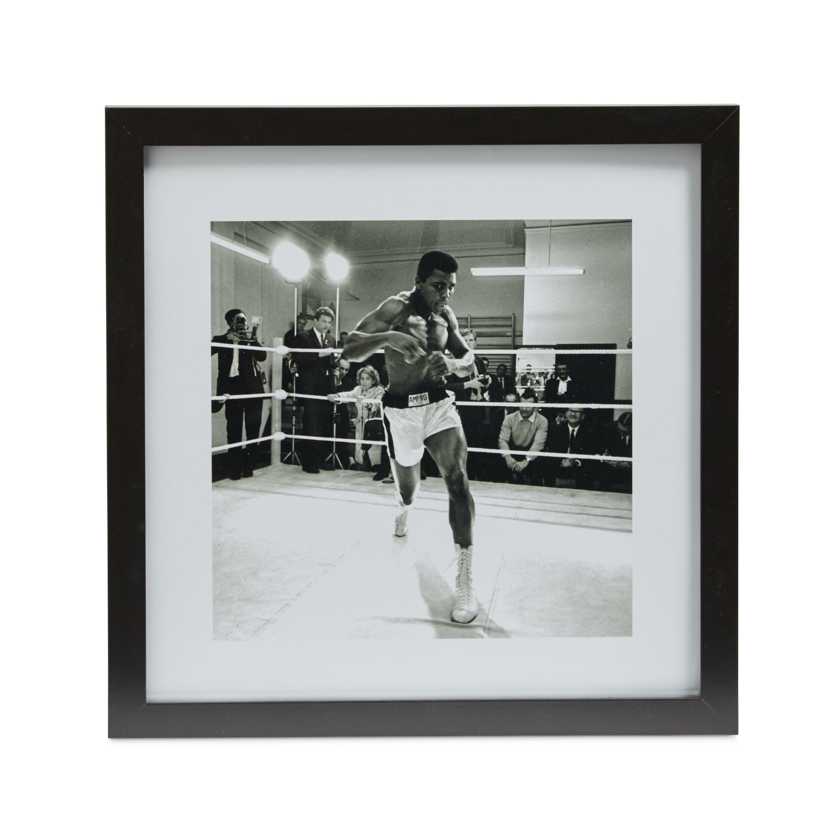 Ali Black Framed Print (w)340mm (h)340mm