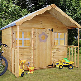 6X5'6 Honeysuckle Wooden Playhouse