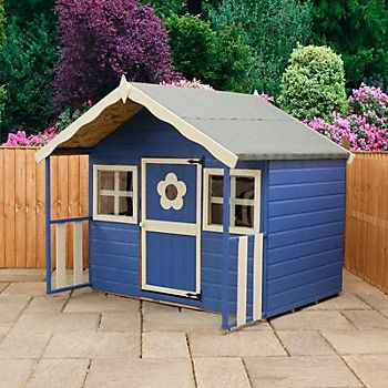 6X5 '6 Honeysuckle Wooden Playhouse