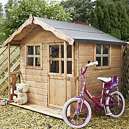 5X5 Poppy Wooden Playhouse