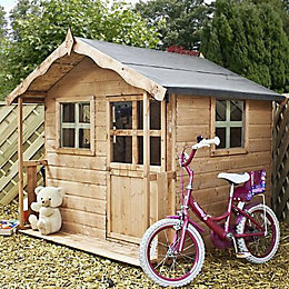 5X5 Poppy Wooden Playhouse with Assembly Service