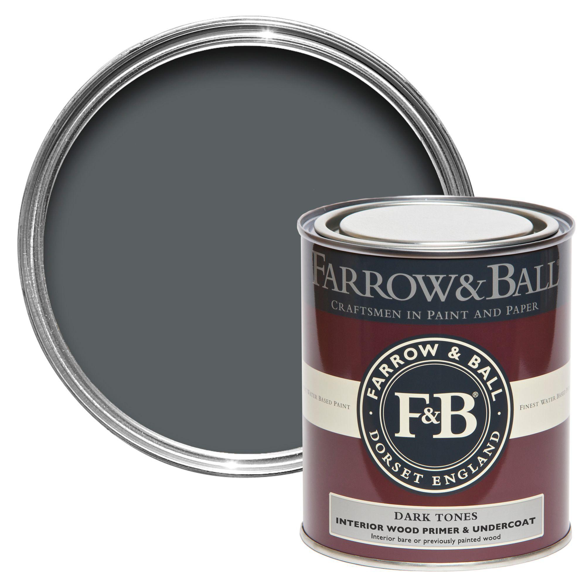 Farrow & Ball Dark Tones Wood Primer & Undercoat 750Ml