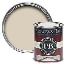 Farrow & Ball Off White No.3 Mid Sheen