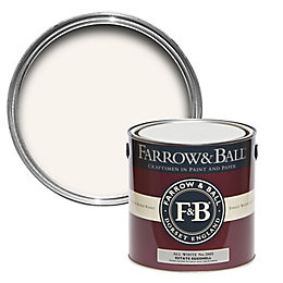 Farrow & Ball All White No.2005 Mid Sheen