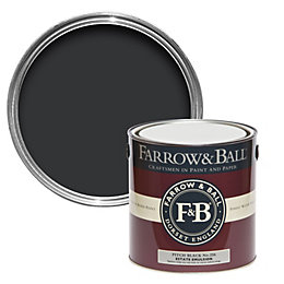 Farrow & Ball Pitch Black No.256 Matt Estate