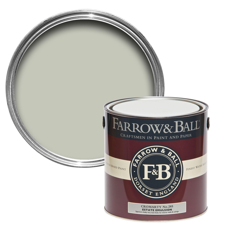 farrow ball cromarty matt estate emulsion paint 2 5l departments diy at b q. Black Bedroom Furniture Sets. Home Design Ideas