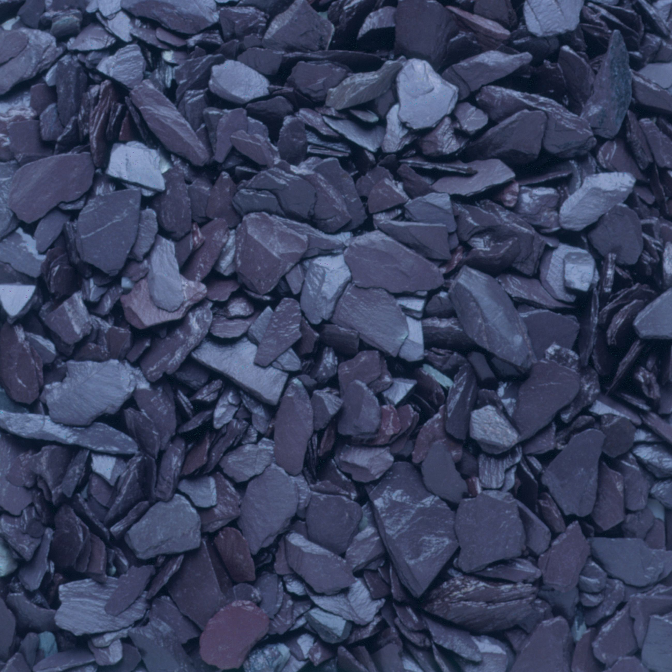 blue decorative slate chippings departments
