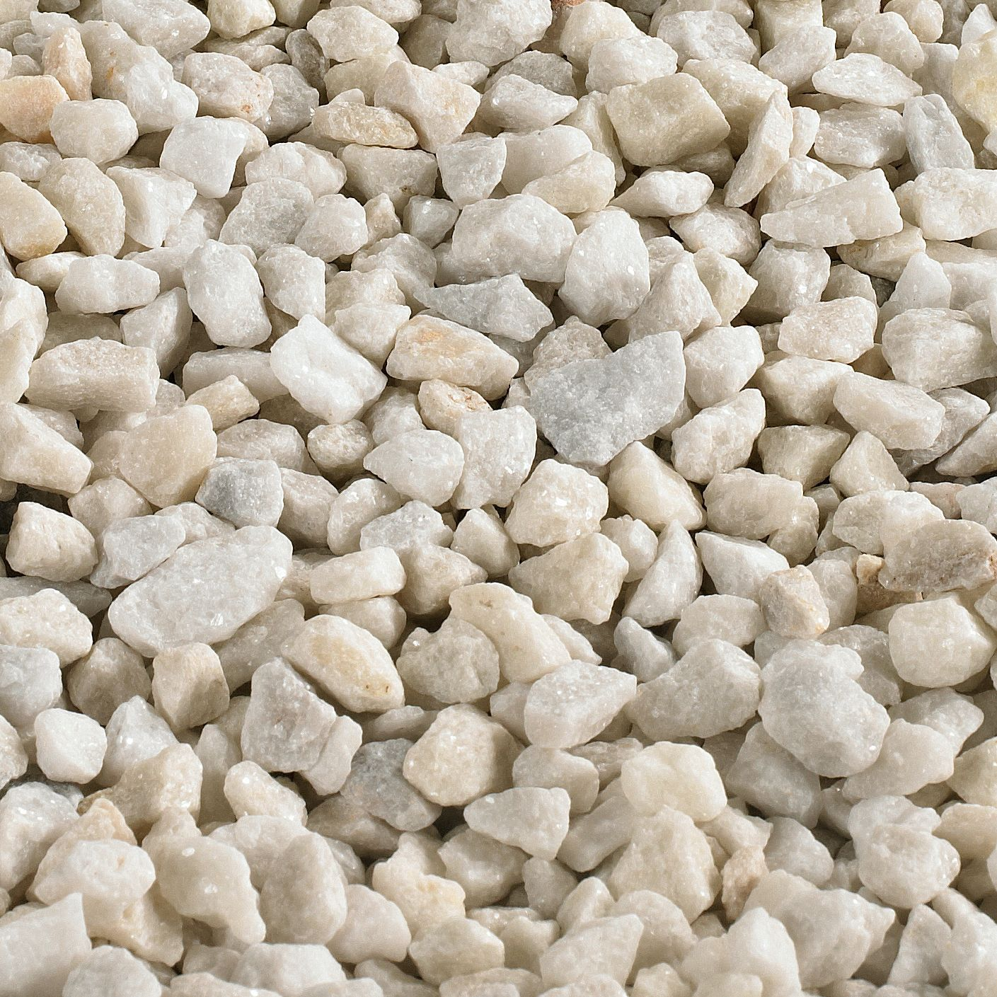 Landscape Gravel Bulk : White spar decorative stone kg bulk bag departments diy at b q