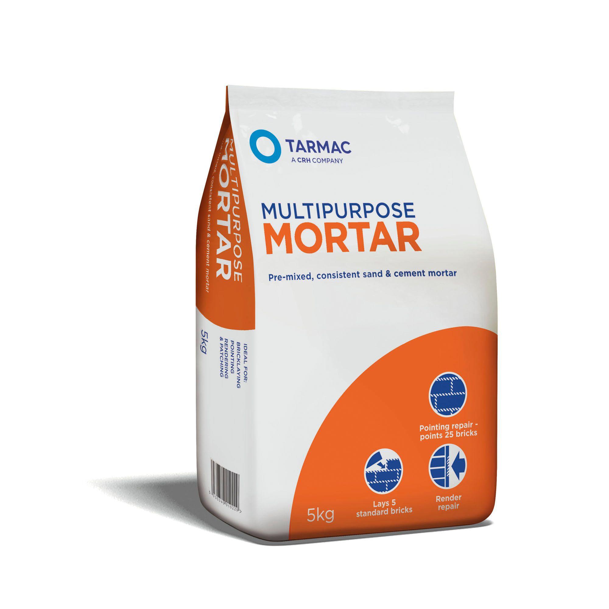 Tarmac Multipurpose Mortar 5kg Bag   Departments   DIY at B Q. Artex Easifix Exterior Render Repair Kit Reviews. Home Design Ideas