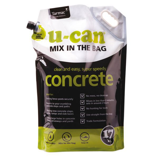 Concrete Mixing Bag : U can mix in the bag concrete kg departments diy
