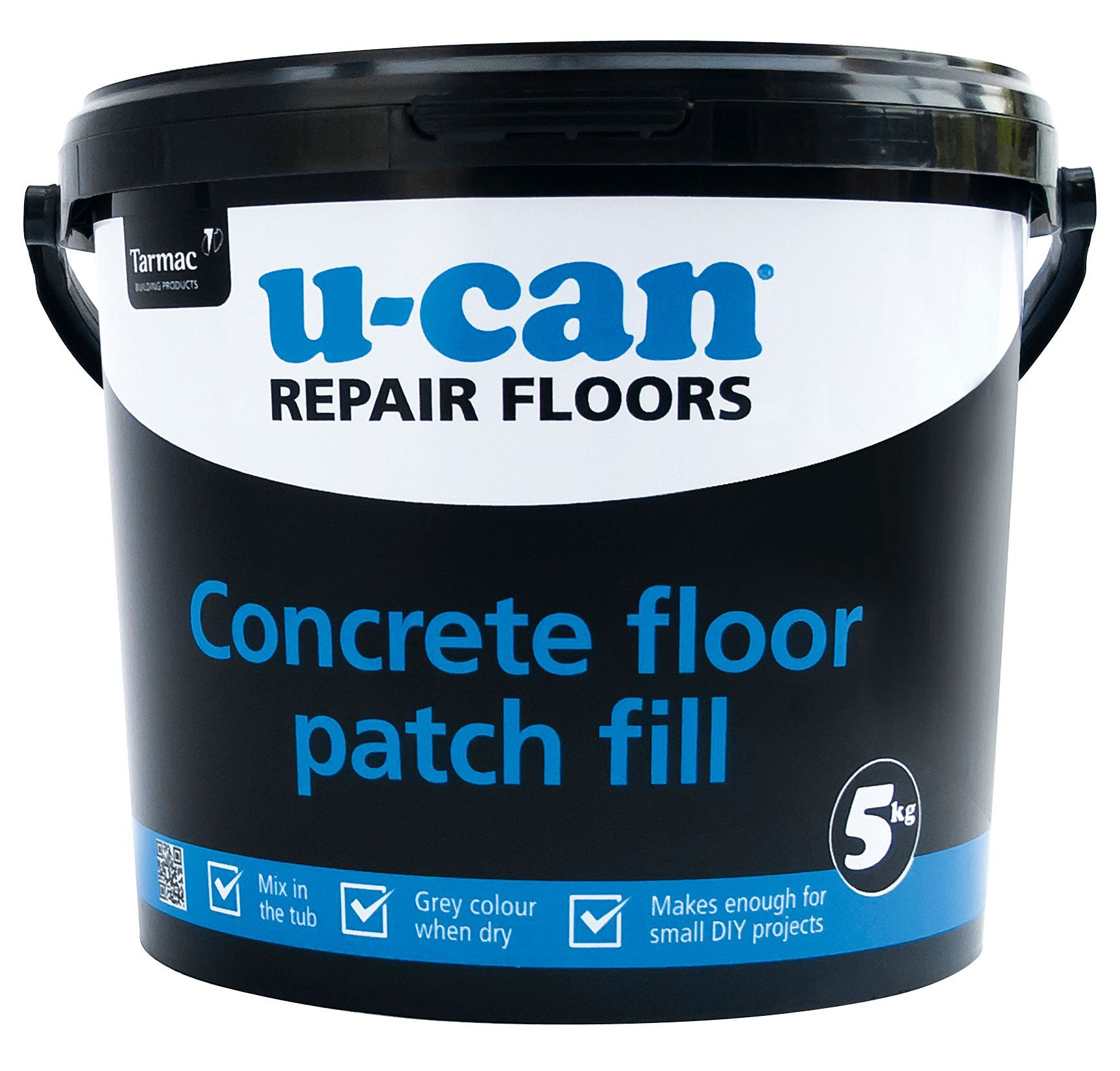U Can Concrete Floor Patch Fill 5kg Tub Departments
