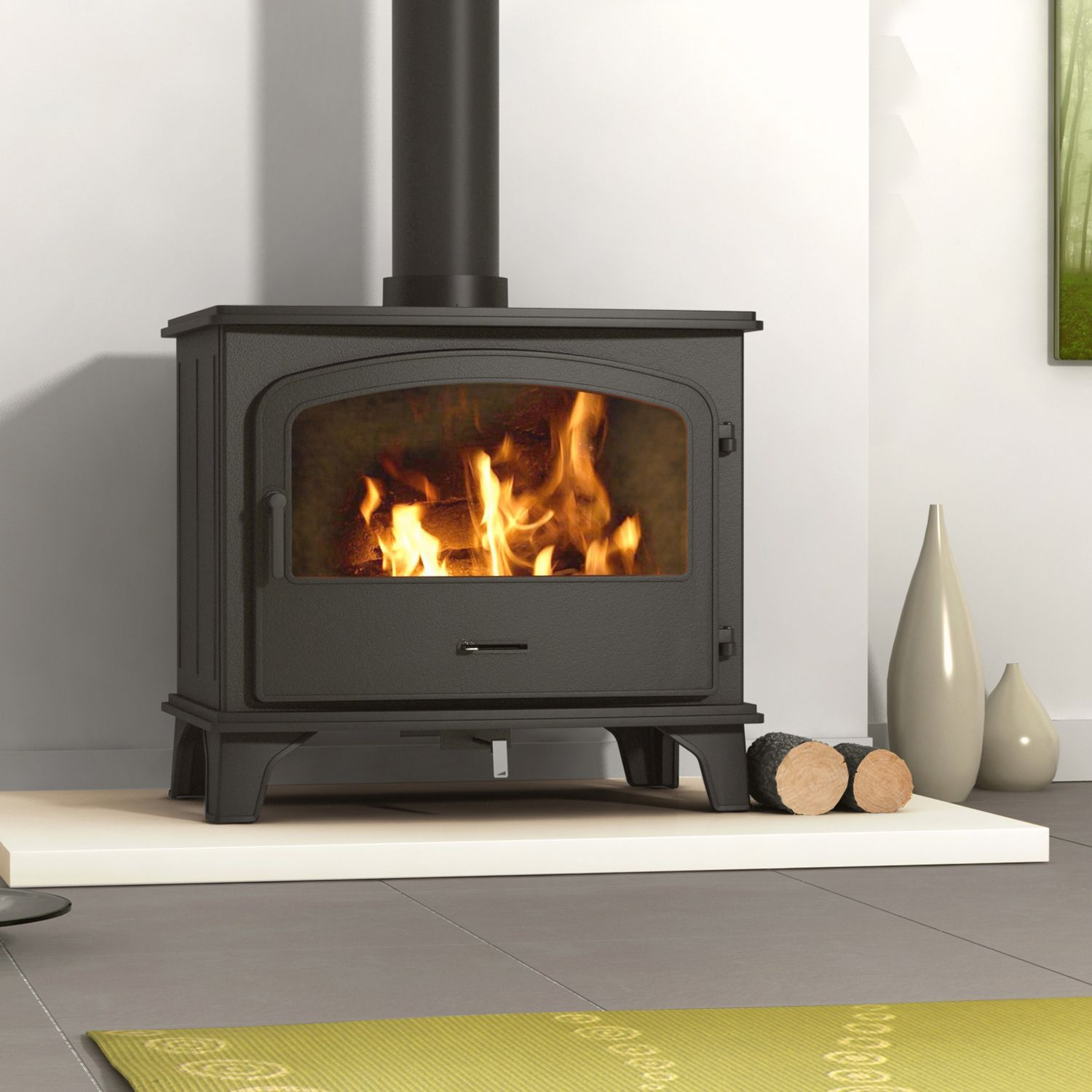 Heat powered fans for wood stoves - Be Modern Ohio Solid Fuel Solid Fuel Stove