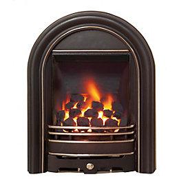 Be Modern Everett Black Inset Gas Fire