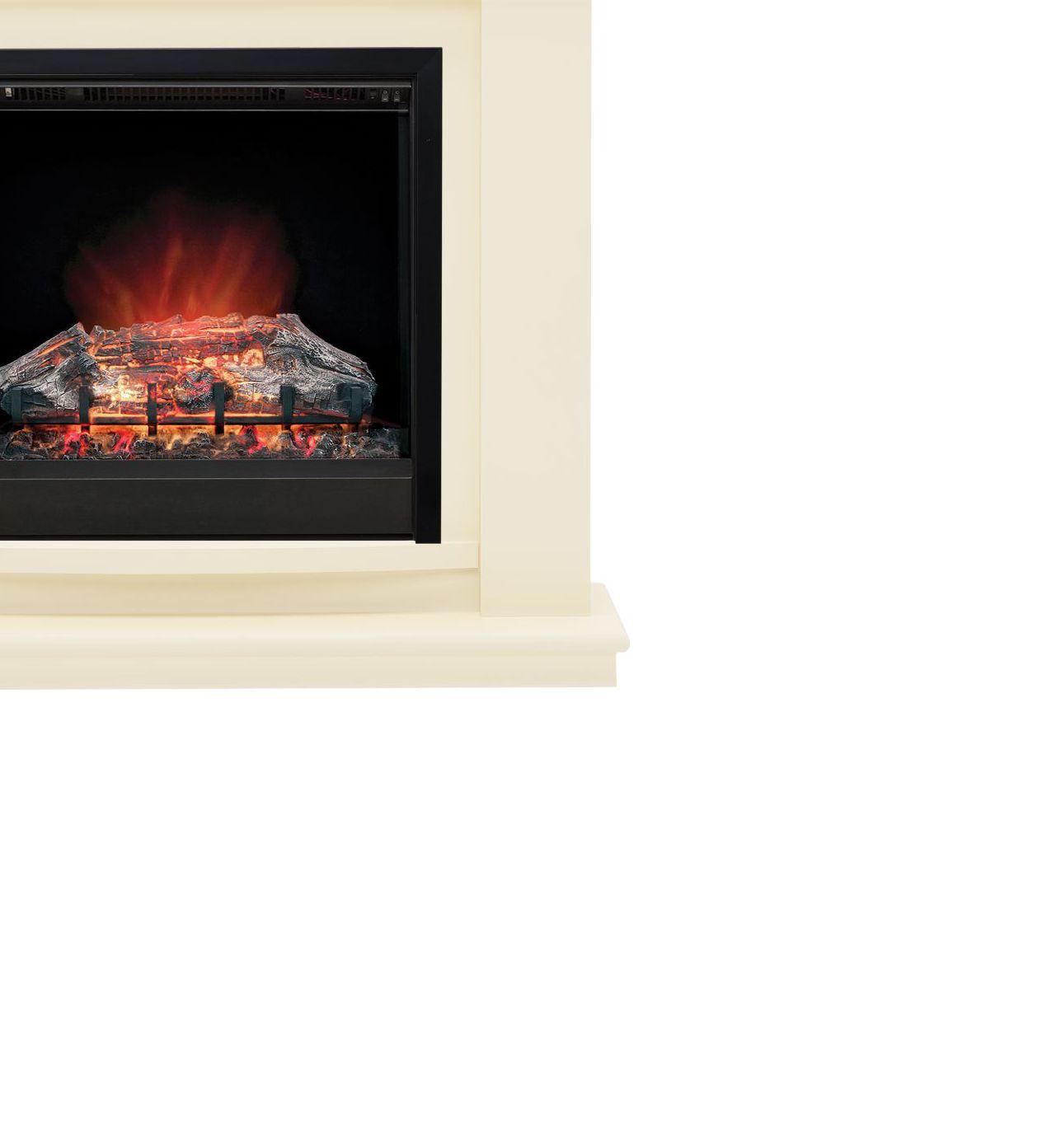 focal point blenheim brass inset gas fire suite departments
