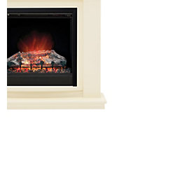 Be Modern Avalon Ivory Effect LED Electric Fire