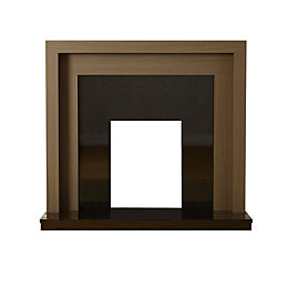 Pennington American Walnut & Black Veneered MDF &