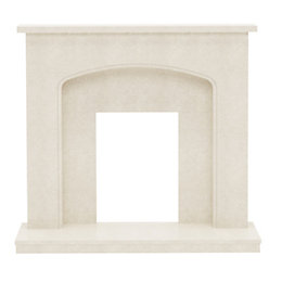 Tahlia Manila Micro Marble Fire Surround
