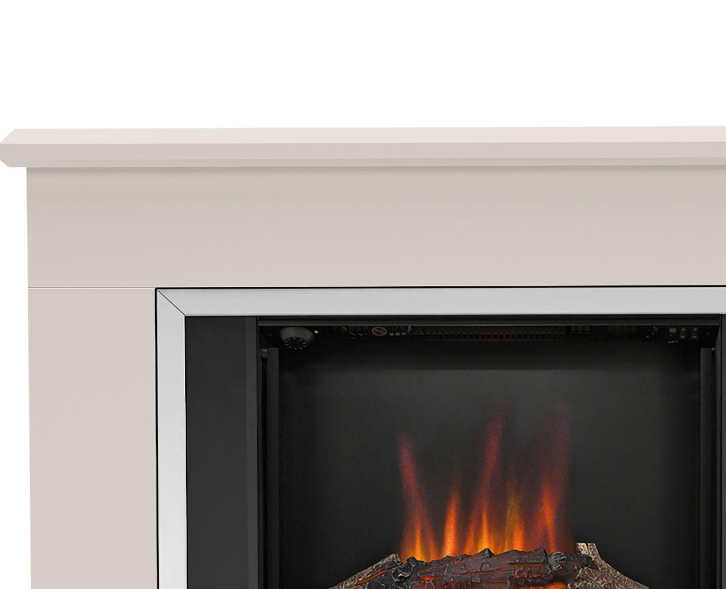 Be Modern Ashburnham Black Led No Remote Control Electric Fire Suite