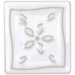 TG Multi Petal Ceramic Wall Tile, (L)200mm (W)250mm