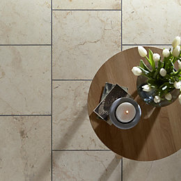 Crema Beige Marble Wall & Floor Tile, Pack