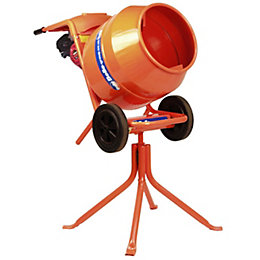Belle Cordless Petrol Cement Mixer 136L