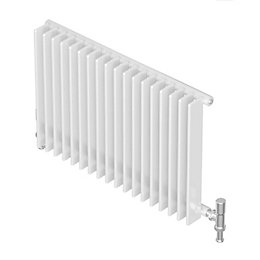 Seren Conqueror 30 Column Radiator, White (W)1200 mm